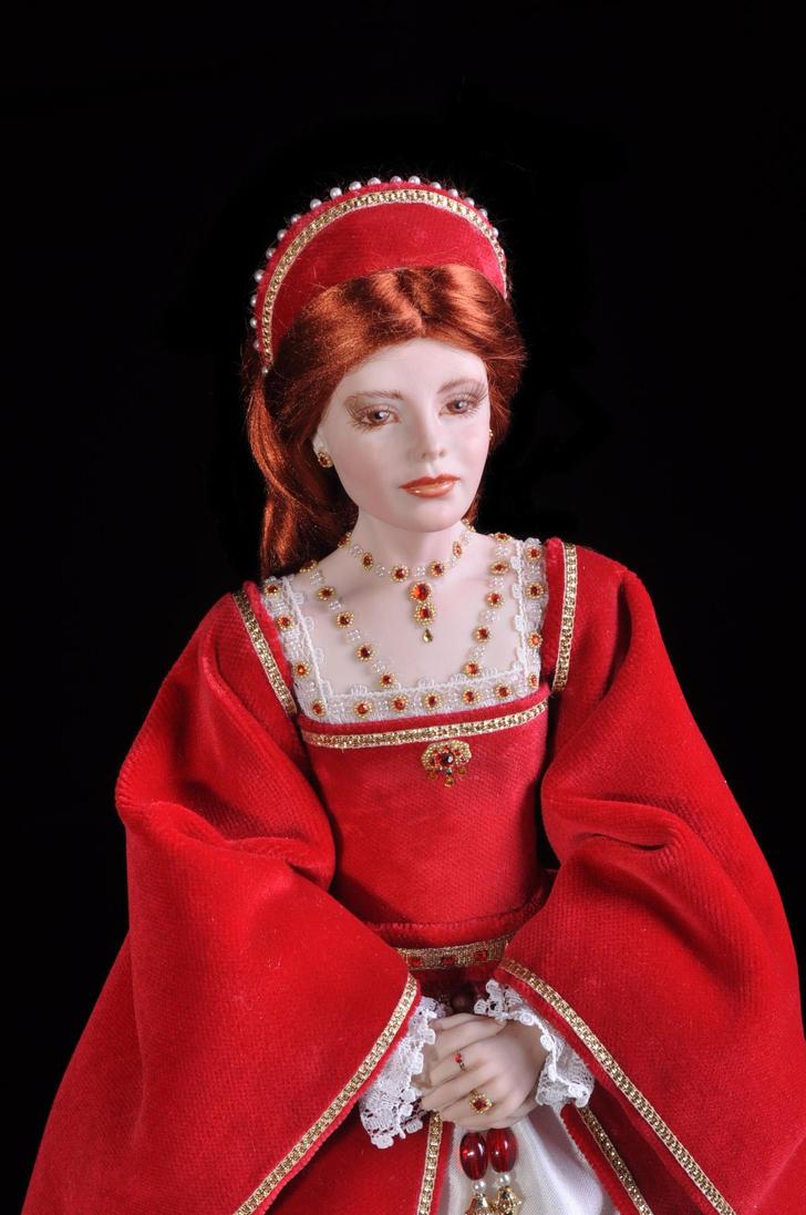 Jane Seymour Tudor 6 By Belgiandollmaker On Deviantart
