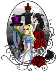 Alice In Wonderland by pikimomo