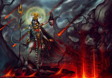 Kali mata by eniqma2000