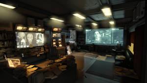 Deus Ex UDK Environment by karthikdevil