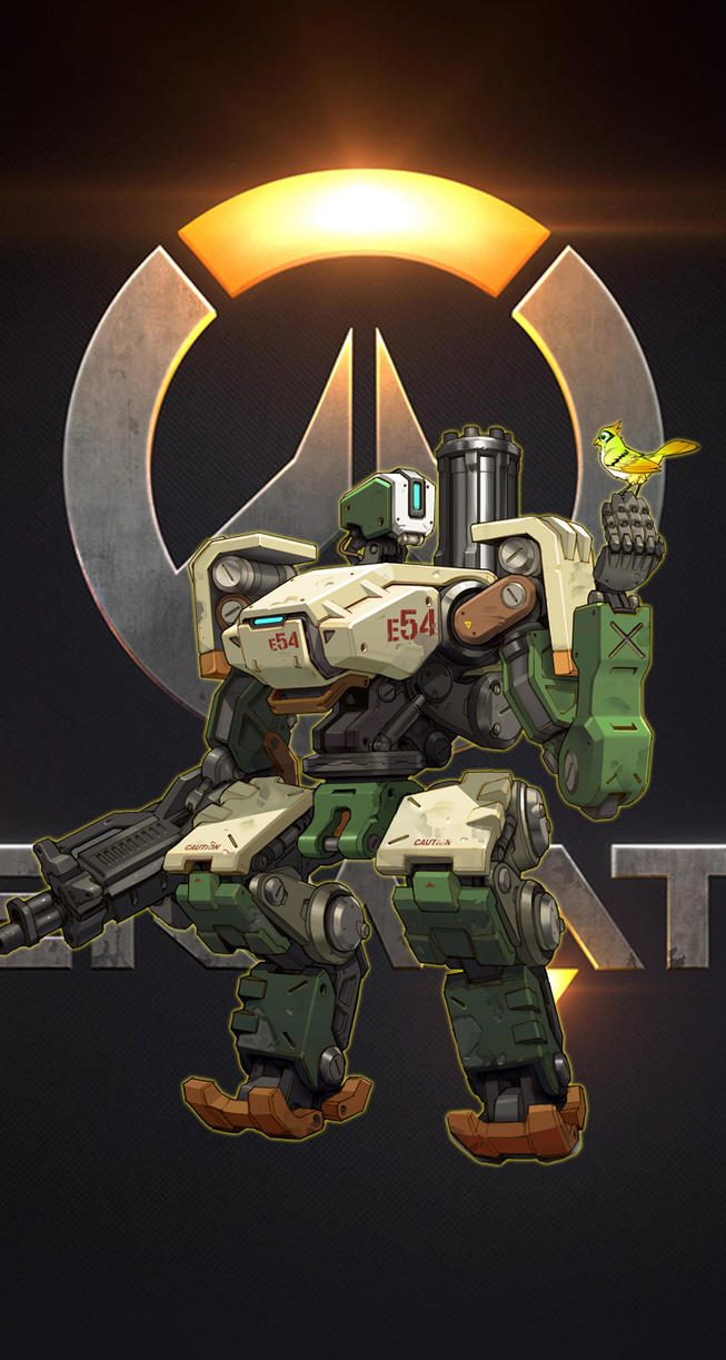Bastion overwatch iphone 5 5s wallpaper by kornkidro on deviantart - Bastion wallpaper ...