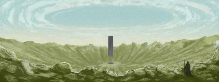 Descending Monolith