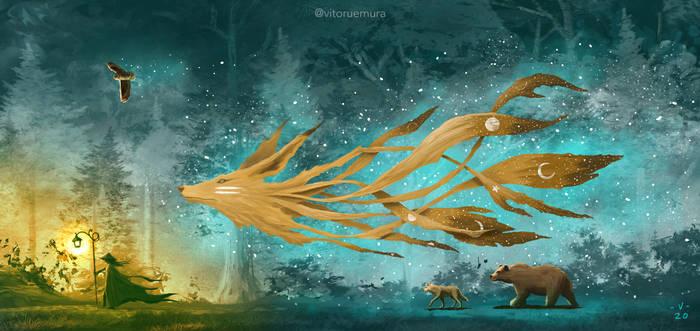 Kitsune 7 Moons