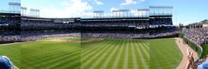 Wrigley Field Panoramic Composite