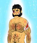 Human AU Oren Body Refs. by VegetaFan79