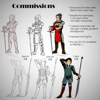 Character Commissions by AyalaNaylo