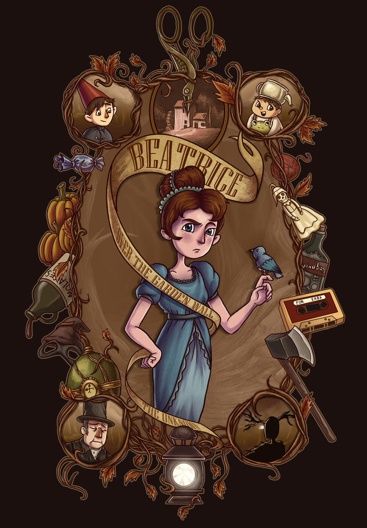 Over The Garden Wall Beatrice By Aktheneroth