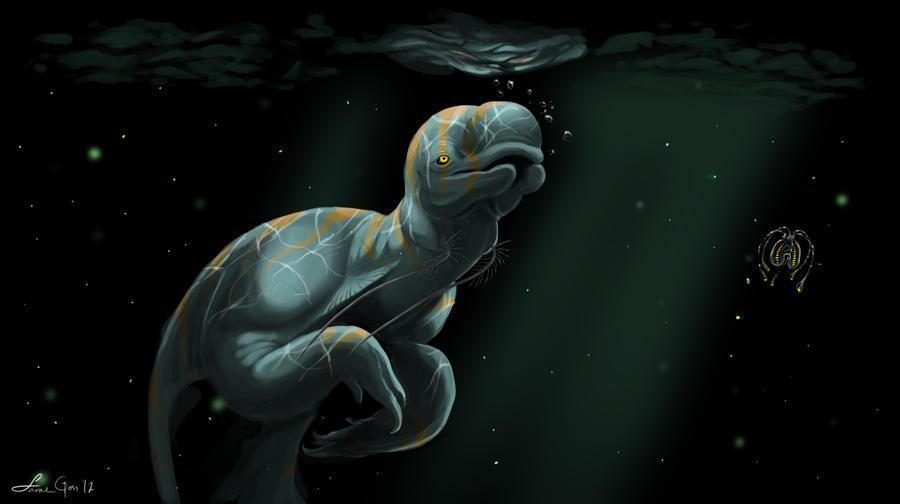 Amidst the Phytoplankton by Exobio