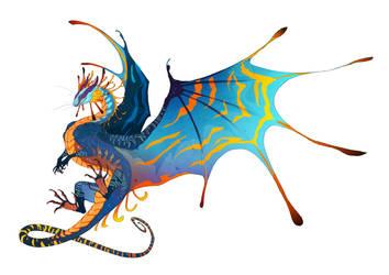 Solstice Dragon by exo-bio