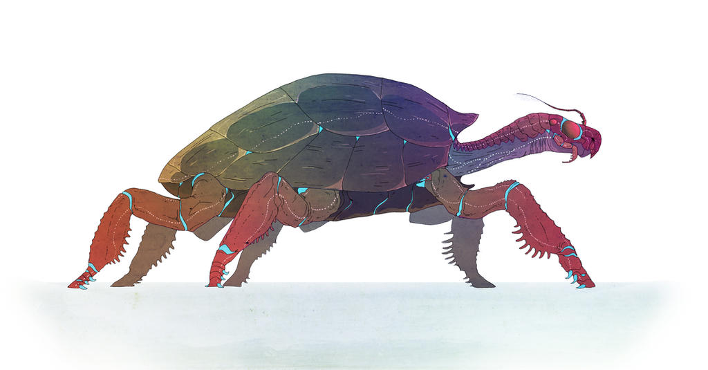Turtle Bug Commission by Exobio