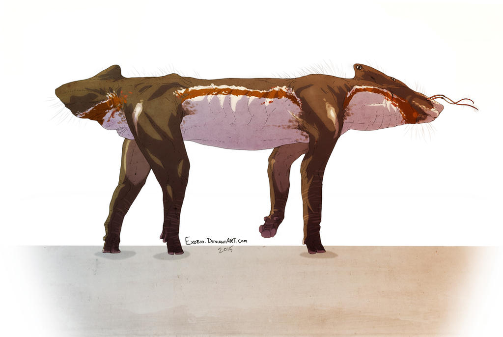Savanna herbivore (name to be determined) by Exobio