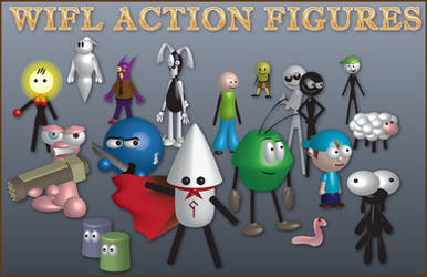 WIFL Action Figures by simpleCOMICS