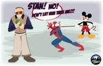 Disney Buys Marvel by simpleCOMICS