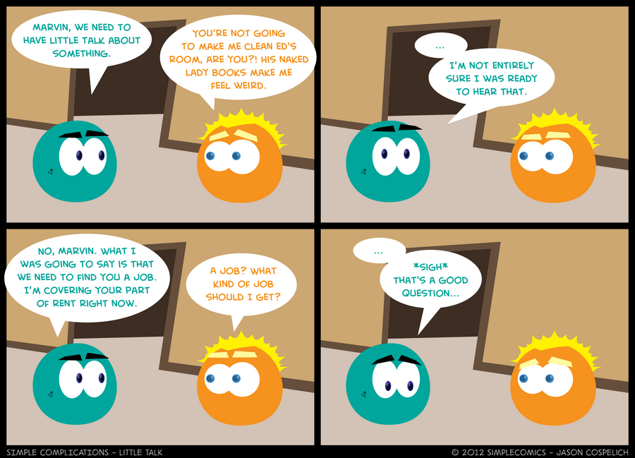 SC196 - Little Talk by simpleCOMICS