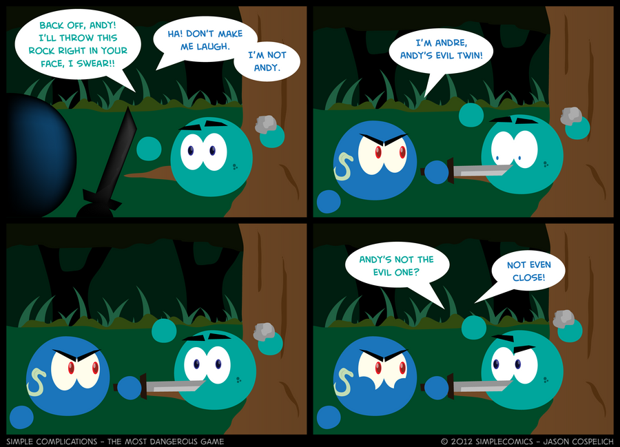 SC220 - Most Dangerous Game 20 by simpleCOMICS