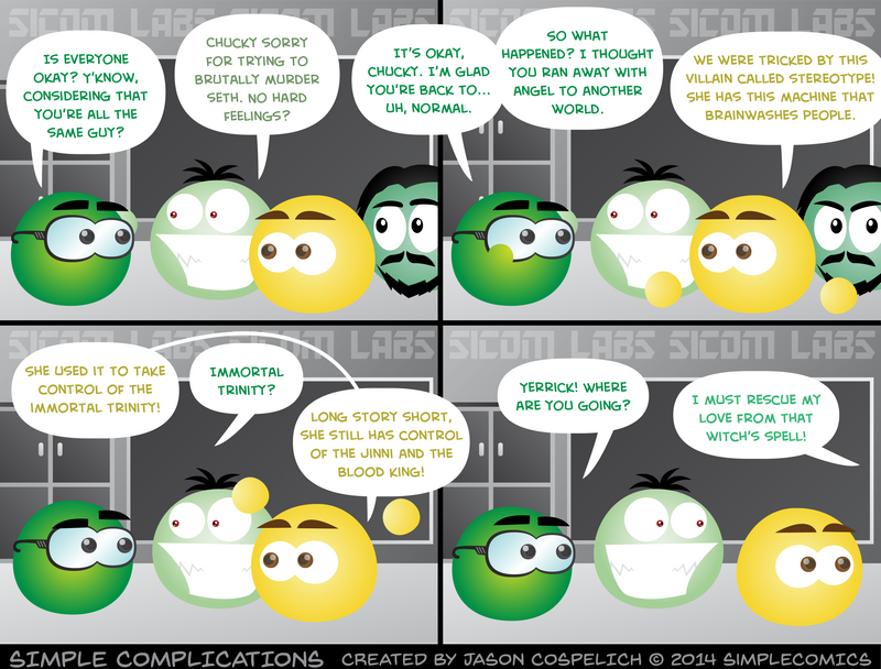 SC968 - An Odd Conversation by simpleCOMICS