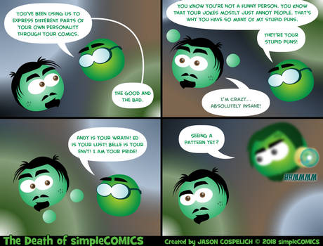 The Death of simpleCOMICS Pt. 40
