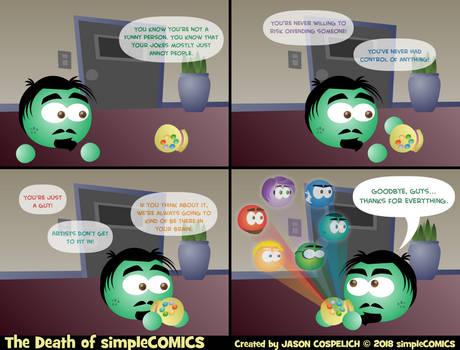 The Death of simpleCOMICS Pt. 45