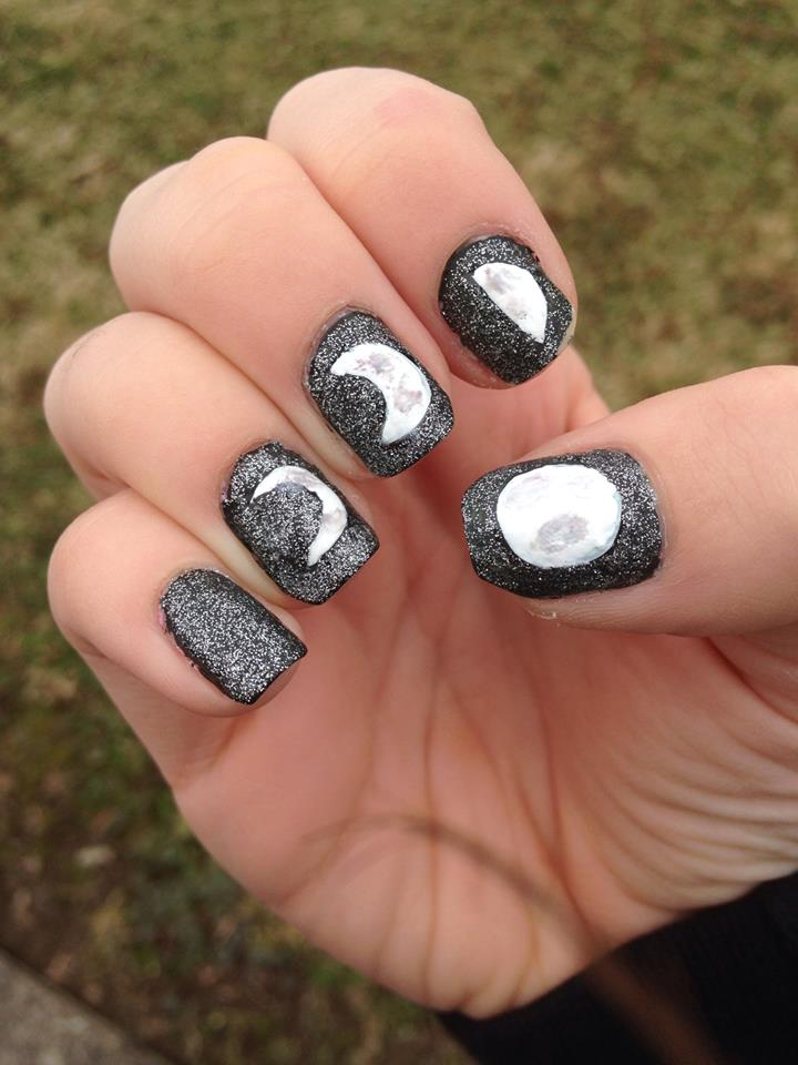 Moon Phase Nails By Rachael1245 On Deviantart
