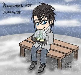 Drawcember 05: Snowglobe by Migi47