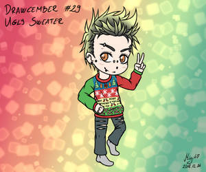 Drawcember 29: Ugly sweater by Migi47