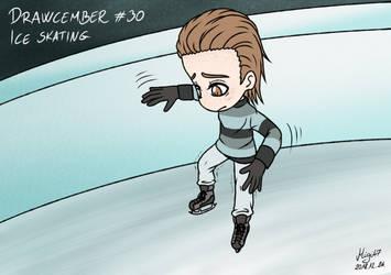 Drawcember 30: Ice skating by Migi47