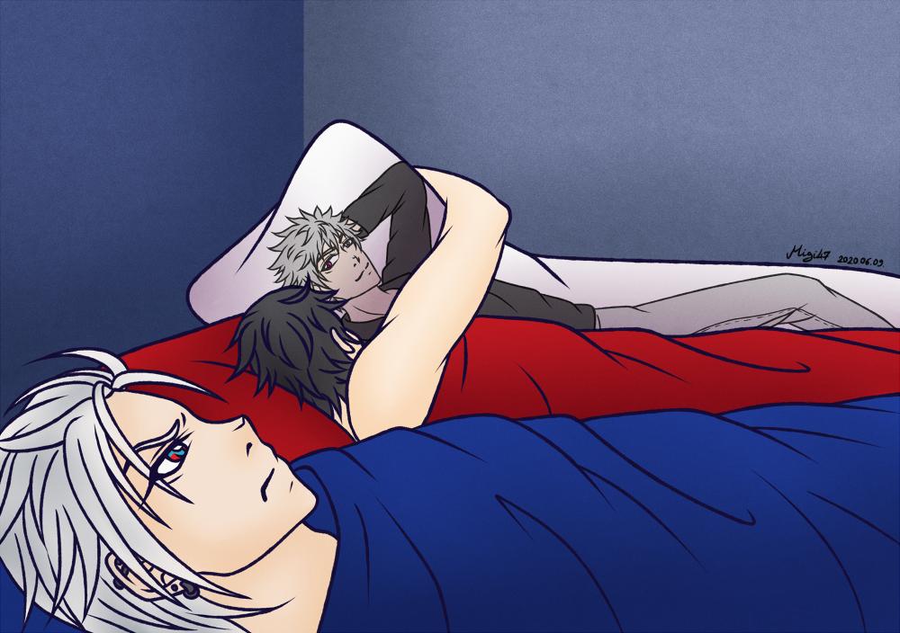 [FanArt: HypMic] Ah yes. Me. My boyfriend.