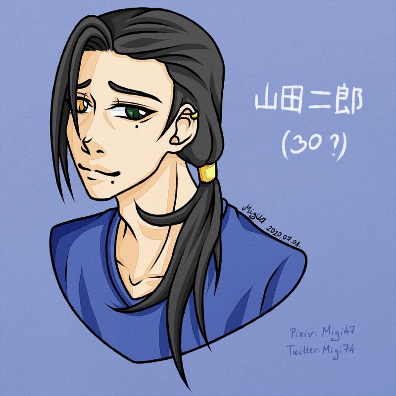 [FanArt: HypMic] Older!Jiro