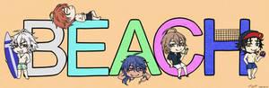 [FanArt: HypMic] Beach