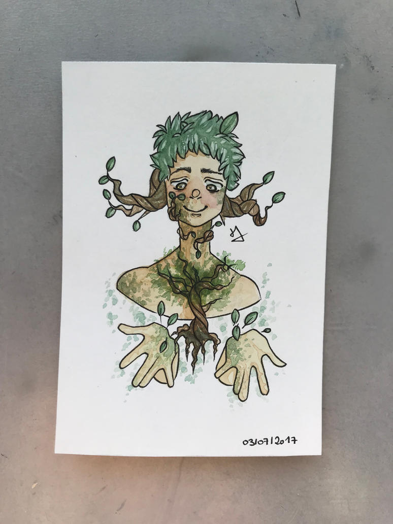 PLANT WITCH by l2naa