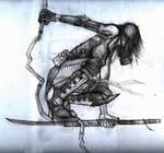 Crouching Alis Sketch
