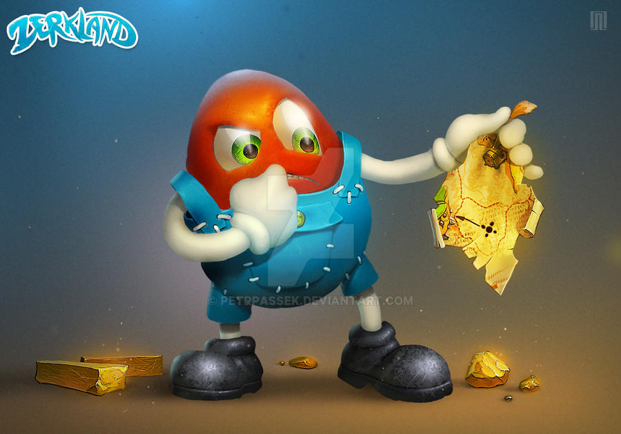 Zerk(Character for game) by PetrPassek