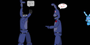 Bonnie meet withered bonnie