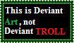 Deviant Troll Stamp