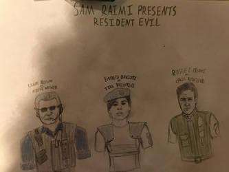 Sam Raimi's Resident Evil by J-Edgar-Pinkerton