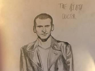 The Ninth Doctor by J-Edgar-Pinkerton