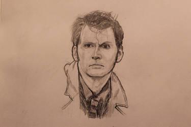 Tenth Doctor by J-Edgar-Pinkerton