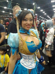 YAYA HAN!!! at AX!! by shinigamieye7