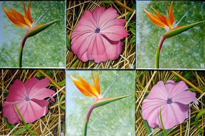 Bruderblueten I-VI/Bruder-Blossoms I-VI by Ulrabiart