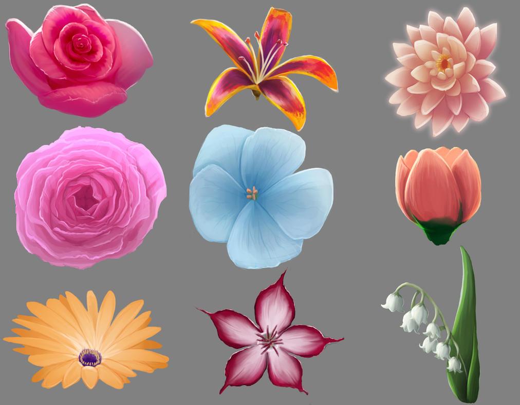 Flower practice (YouTube ! ) by SaoShinda