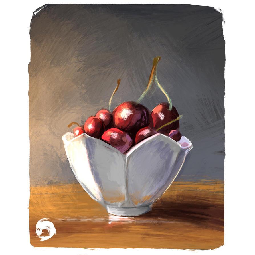 Cherry bol practice  by SaoShinda