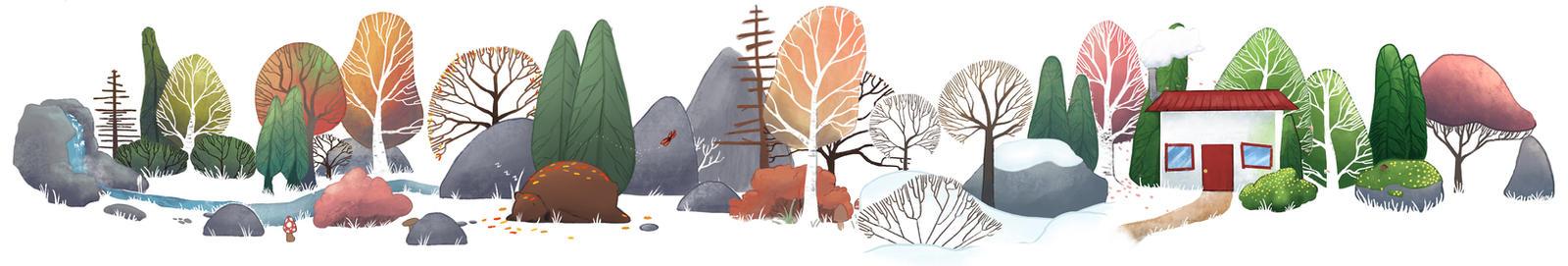 The Seasons ( YouTube! ) by SaoShinda
