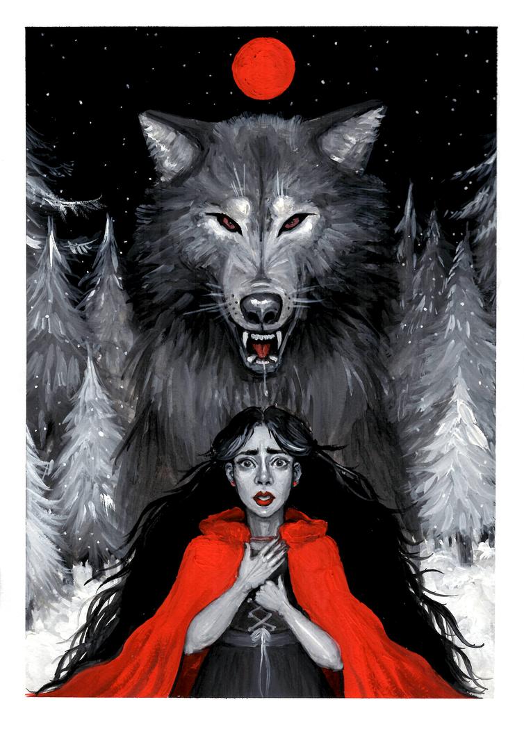 Little Red Riding Hood by MaryVozhdaeva on DeviantArt