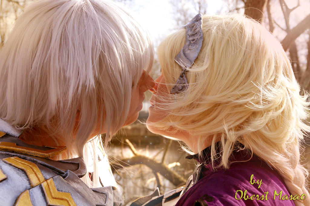Jeanne and Siegfried Cosplay by Hepheistion