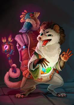 opossum merchant