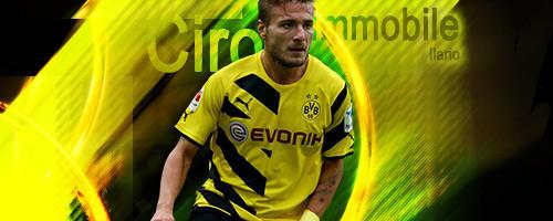 Ciro Immobile BVB Dortmund Signature