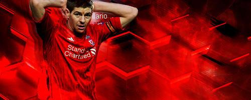 Steven Gerrard Liverpool Players Signature
