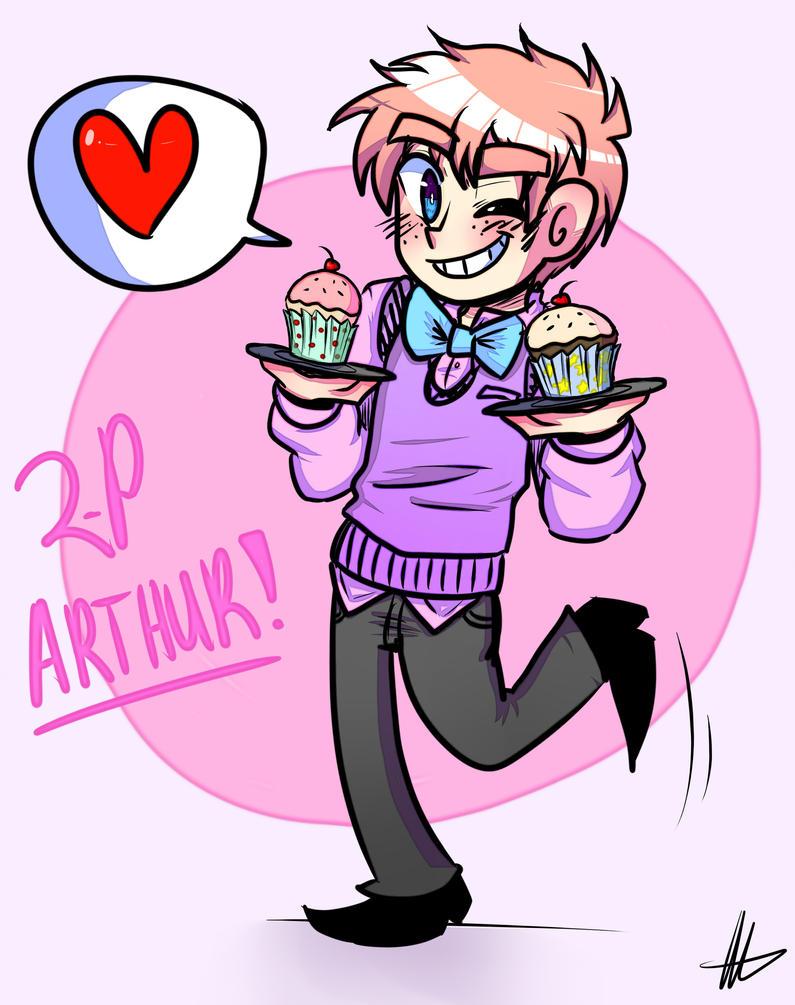 ARTHUR AND HIS CUPCAKES by akitokun1