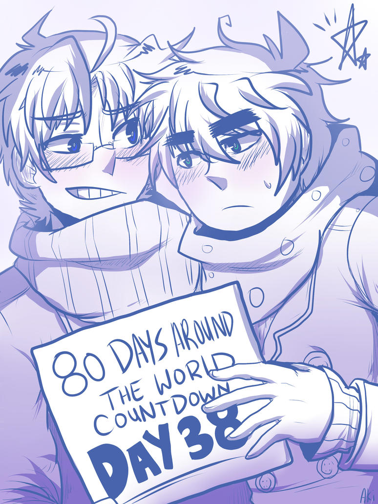 80 DAYS AROUND THE WORLD -DAY 38- by akitokun1