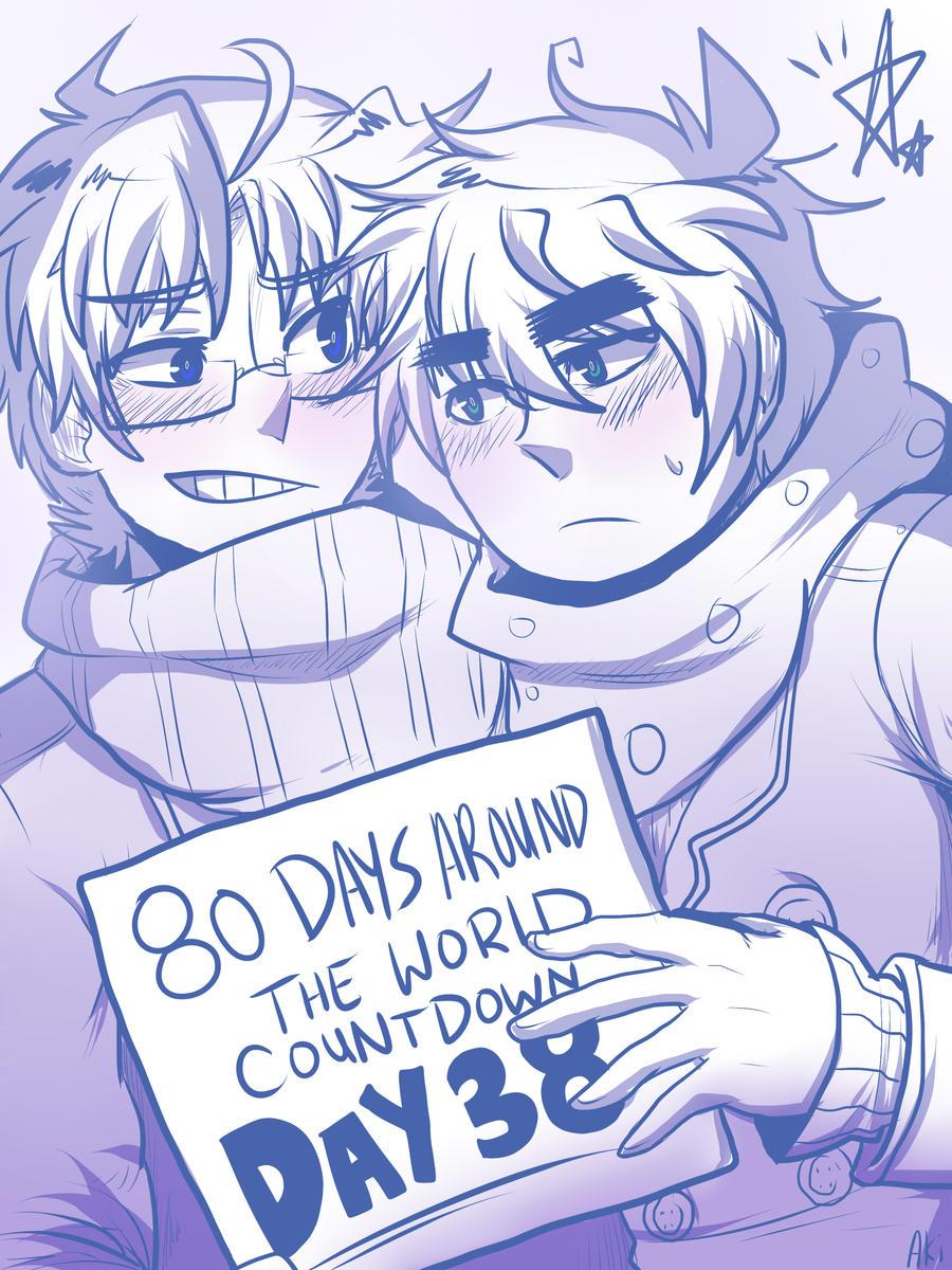 80 DAYS AROUND THE WORLD -DAY 38- by akitokun1